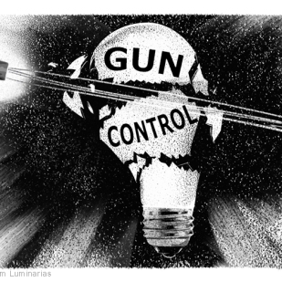 Editorial Art: Gun Control by Lem Luminarias