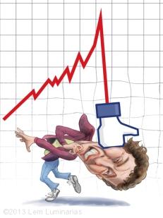Caricature of Mark Zuckerberg by Lem Luminarias