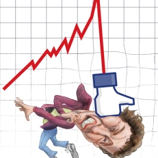 Caricature of Mark Zuckerberg by Lem Luminarias